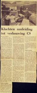 19710208 Klachten aanl. verbouwing. (NRC)