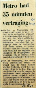 19710225 Metro had 35 minuten vertraging (RN)
