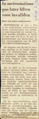 19710301 Later liften metro. (NRC)