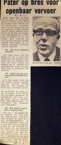 19710316 Pater op bres voor OV. (AD)