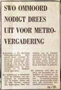 19720114 Drees uitgenodigd voor vergadering.