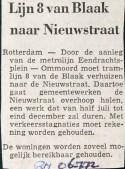 19720706 Lijn 8 naar Nieuwstraat. (RN)