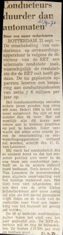 19720921 Conducteurs duurder dan automaten.