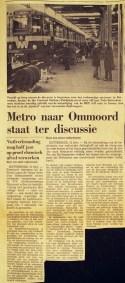 19730212 Discussie metro Ommoord. (NRC)