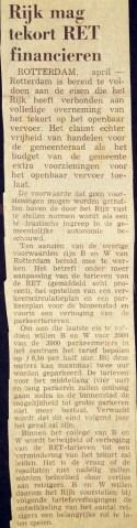 19730409 Rijk financiert tekort. (NRC)