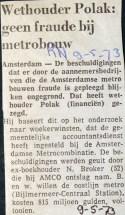 19730509 Geen fraude. (RN)