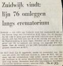 19730614 Lijn 76 langs crematorium.