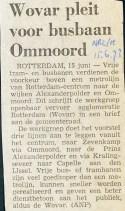 19730615 Wovar pleit voor busbaan. (NRC)