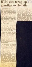 19730706 RTM gunstuge exploitatie. (NRC)