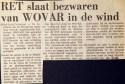 19730710 Bewaren in de wind geslagen.