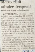 19730914 Metro minder frequwent.