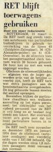 19740315 Toerwagens blijven. (NRC)
