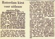 19740726 Rotterdam kiest voor uitbouw metro. (DVK)