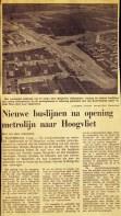 19740801 Nieuwe buslijn Hoogvliet. (NRC)