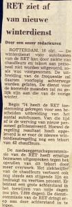19741016 Geen nieuwe winterdienst. (NRC)