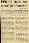 19741206 Afzien metrolijn. (NRC)