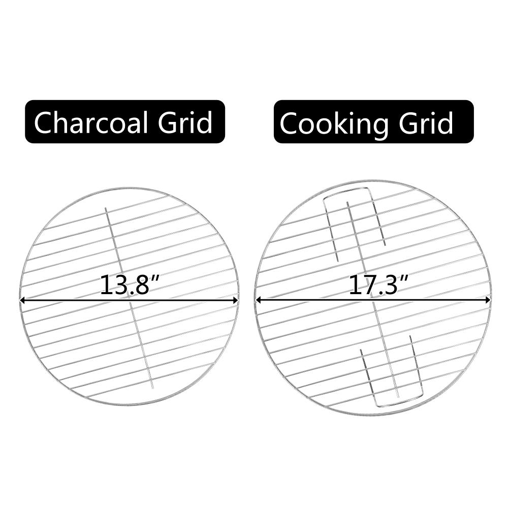 Rovsun Apple Charcoal Stove Enamel (Cover Furnace Body