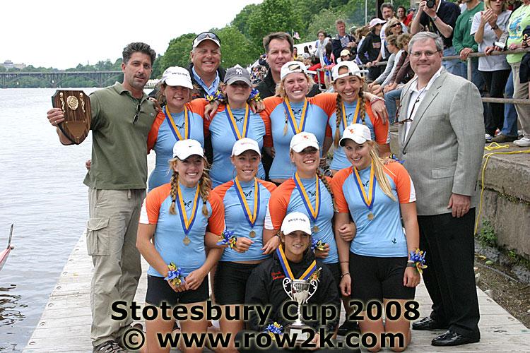 Women's J8 team took first place