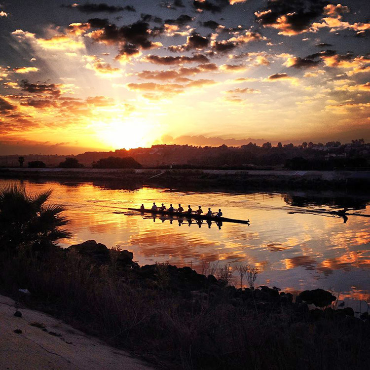 Ballona Creek Row2k Rowing Photo Of The Day
