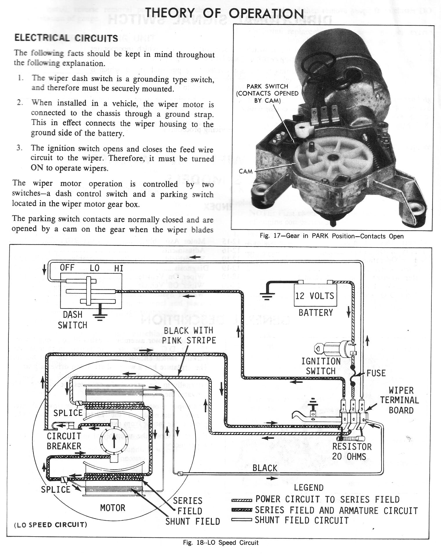 Chevy Wiper Motor Wiring Diagram Truck Car 65 Ford