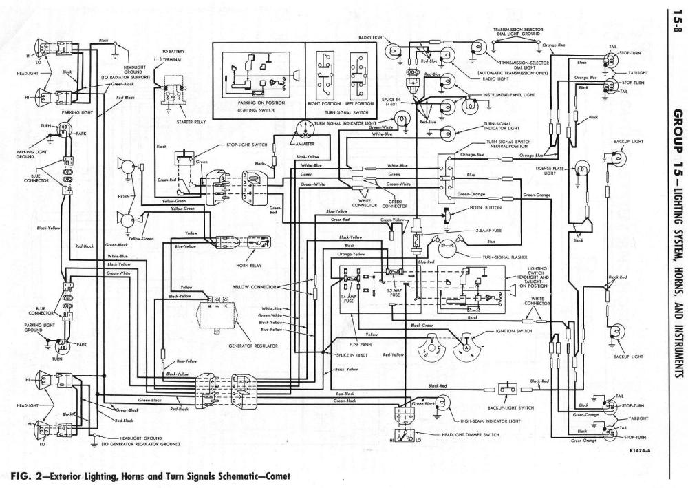 medium resolution of 1964 ranchero wiring diagrams fprd induction amp meter wiring diagram