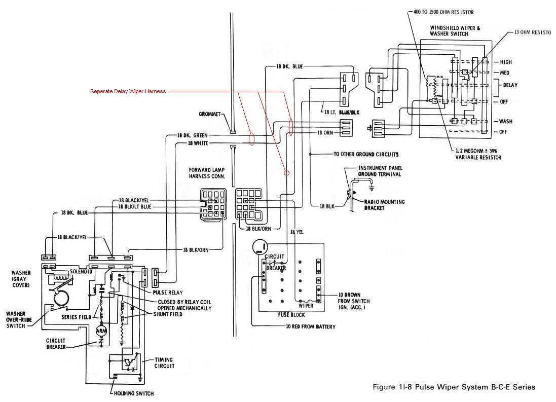 Camaro Windshield Wiper Motor Wiring Diagram