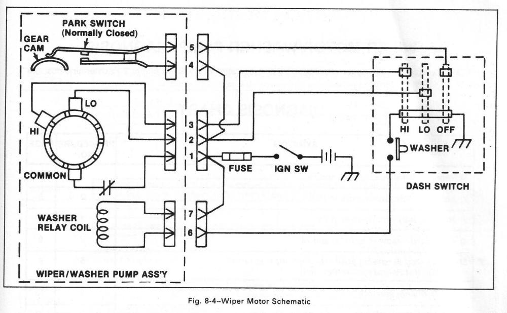 medium resolution of sprague wiper motor wiring diagram wiring diagram schematics 2001 western star firewall diagram 83 chevy wiper motor wiring diagram