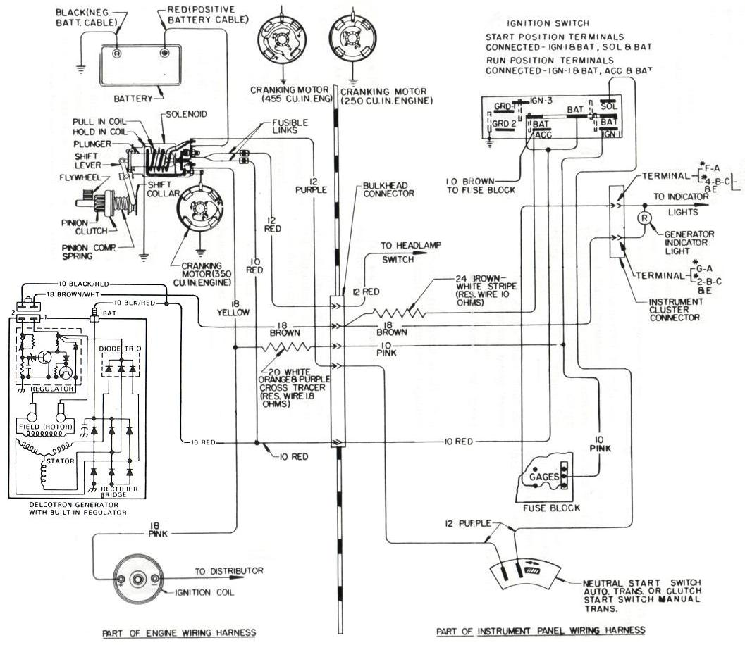 hight resolution of 1973 to 1985 buick internally regulated alternator wiring overview gm internal regulator wiring diagram ford alternator wiring diagram internal regulator