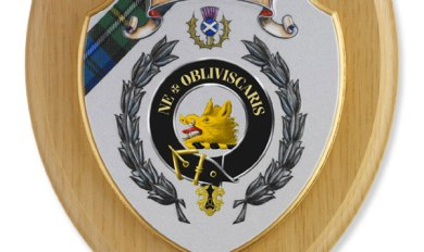 Wooden Family Crest Shield Wooden Thing
