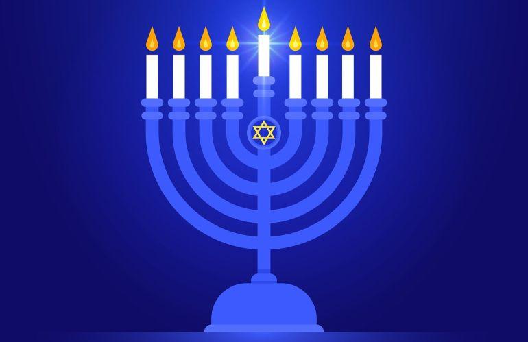 Happy Chanukah from Rowan Hillel