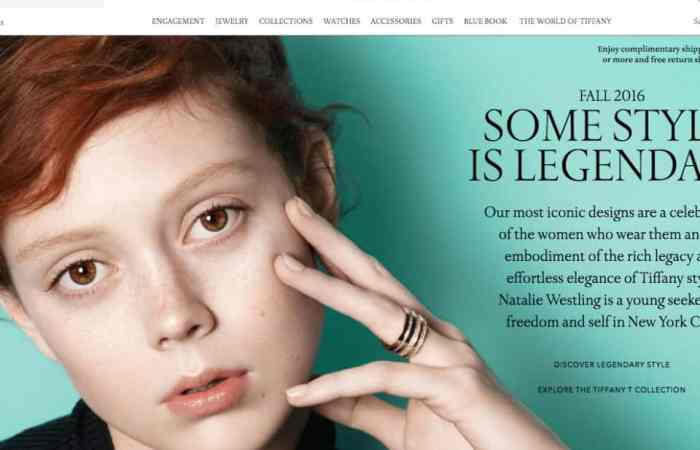 Global Digital Commerce for Tiffany & Co.