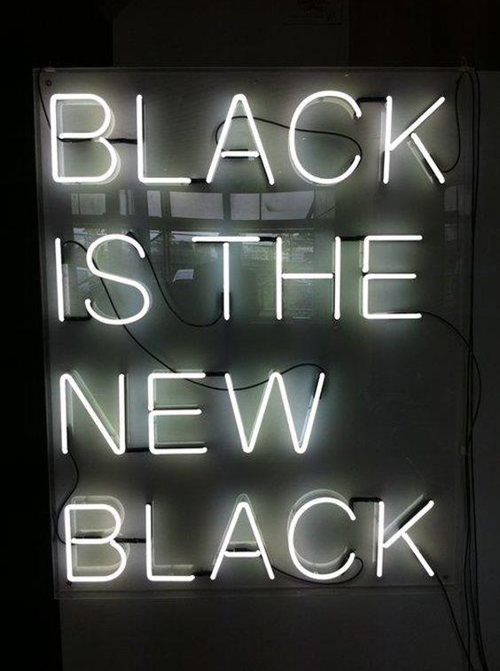 Colour Trend: Black