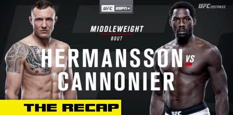 UFC Fight Night 160 Recap