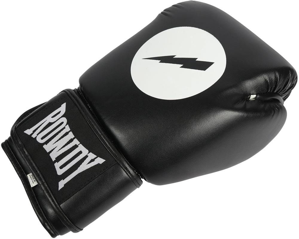 Black Rowdy Boxing Gloves