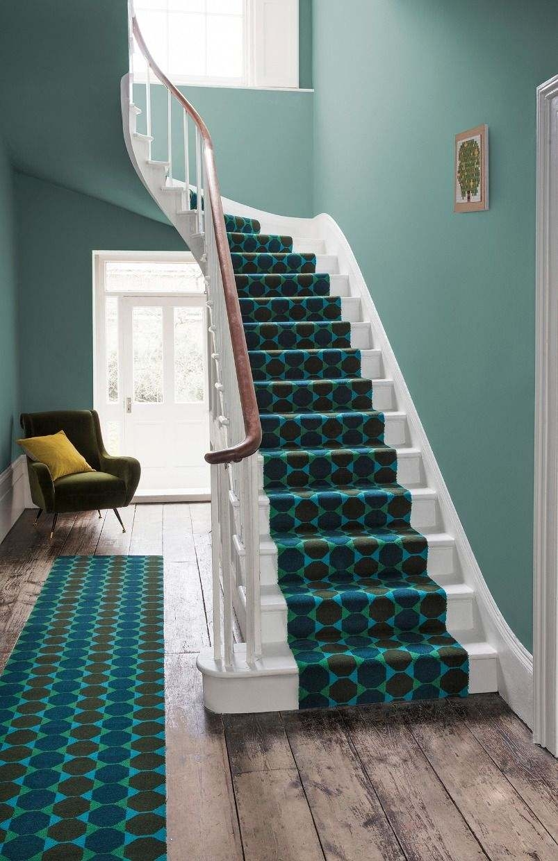 Rowe Carpets Brand Bio Alternative Flooring | Quirky Carpets For Stairs | Designed | Statement | Popular | Flower Patterned | Flowery