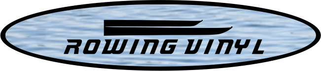 Rowing Vinyl Logo