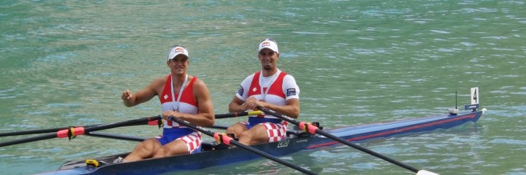 Sinkovic brothers rowing