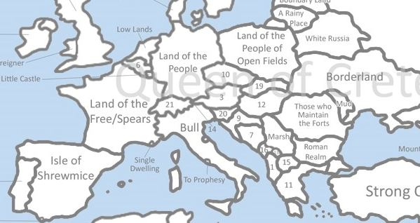 origin of the names of every country