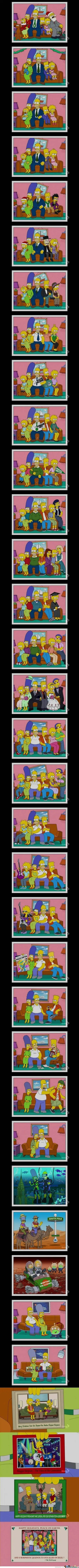 The Simpsons Timeline - Holidays of Future Passed