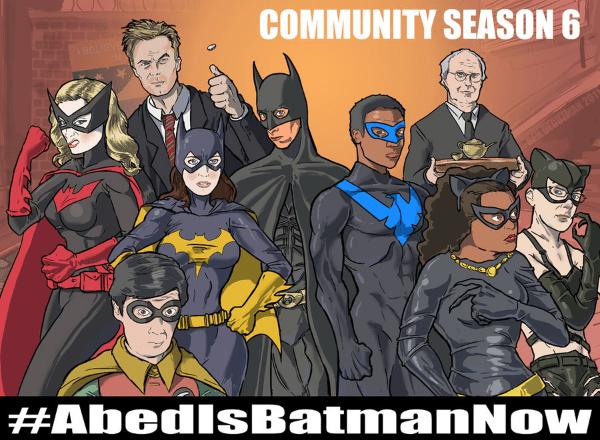 community cast a batman characters
