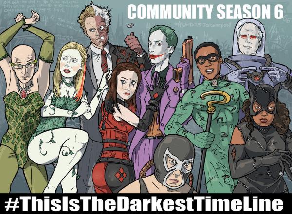 community cast as batman villains