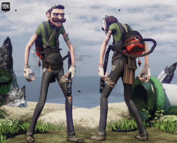Luigi 3D