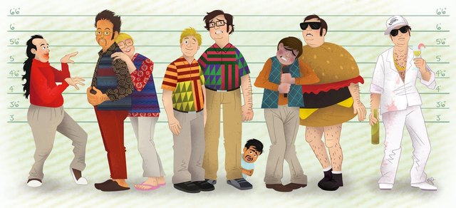 tim and eric as the usual suspects