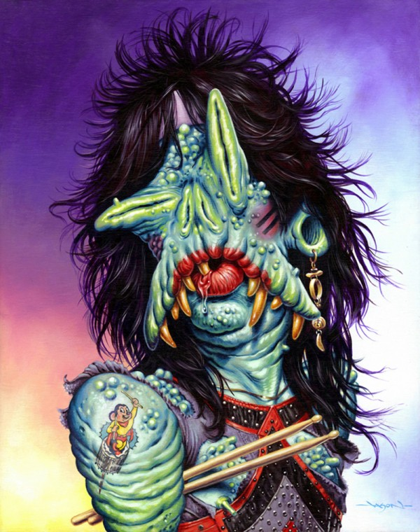 Tommy Lee monster by Jason Edmiston