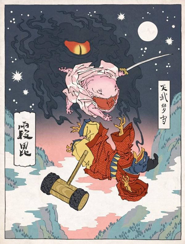 Samurai Kirby by Jed Henry