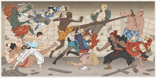 Samurai Street Fighter by Jed Henry