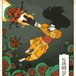 Metroid: Samurai Samus Aran by Jed Henry