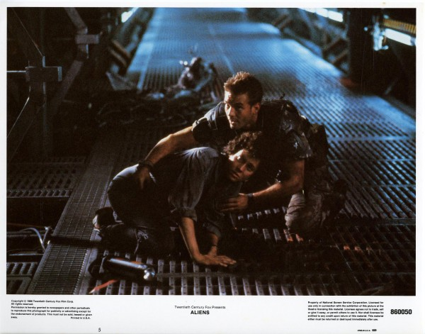 Aliens Lobby Cards - Ripley and Hicks