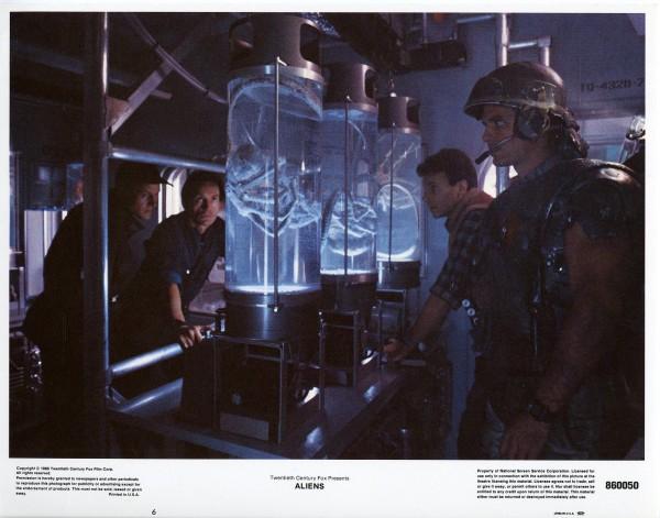 Aliens Lobby Cards - Gorman Bishop Burke and Hicks