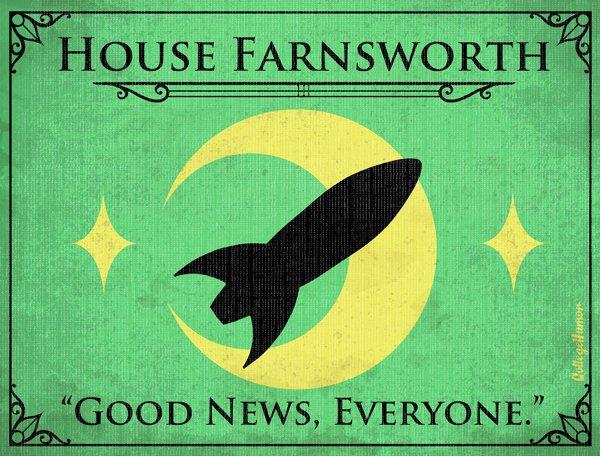 Game of Thrones House Sigils - Professor Farnsworth - Futurama